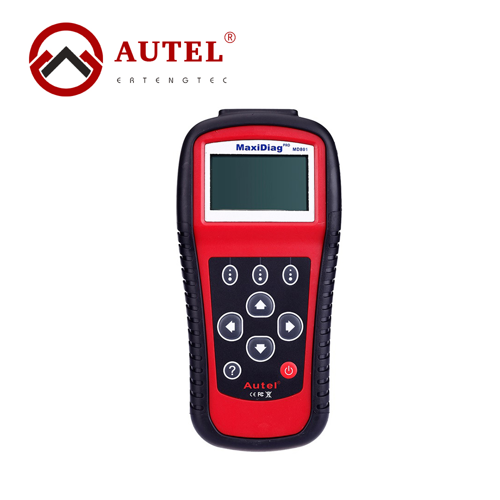 Autel Code Reader MaxiDas MD801 Engine Transmission Auto Diagnostic Tool 4 in 1 (JP701+EU702+US703+FR704) autel md801 pro 4 in 1 code scanner jp701 eu702 us703 fr704 maxidiag pro md 801 code reader