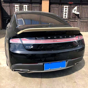 UBUYUWANT For Lincoln MKZ 2014-2019 ABS Plastic Material Primer Color Car Tail Wing Decoration Rear Trunk Lip Spoiler