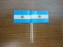 50 sztuk argentyna wykałaczki flagi papierowe flagi wykałaczki CakeToothpicks Cupcake Koktail owocowy kije dekoracji wykałaczka Flag