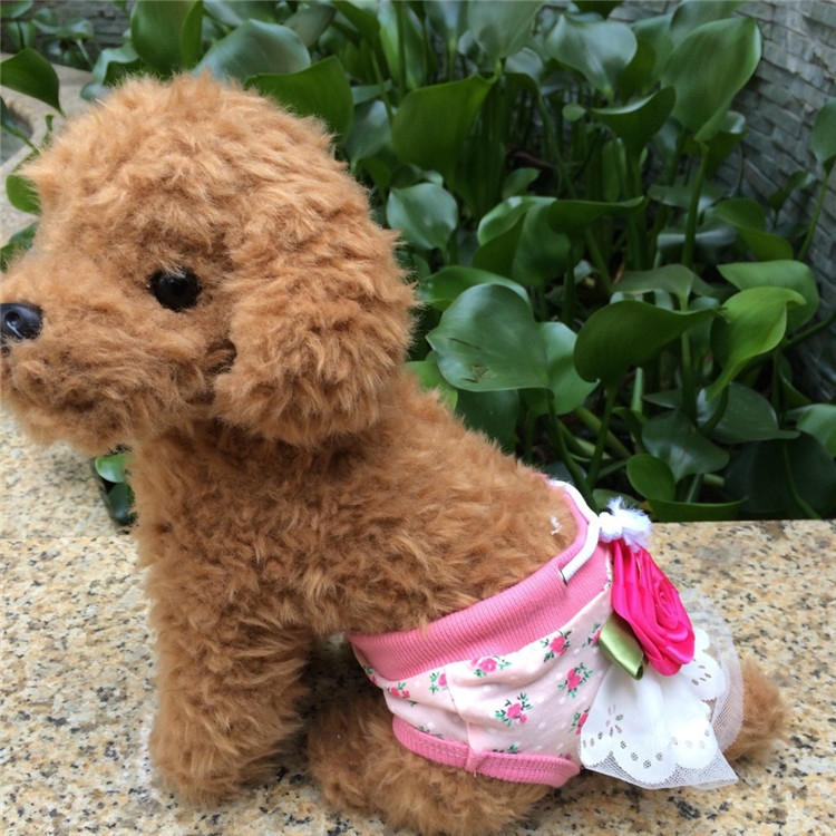 All Season She Dogs Shorts Cotton Soft Period Care Underwear Cute