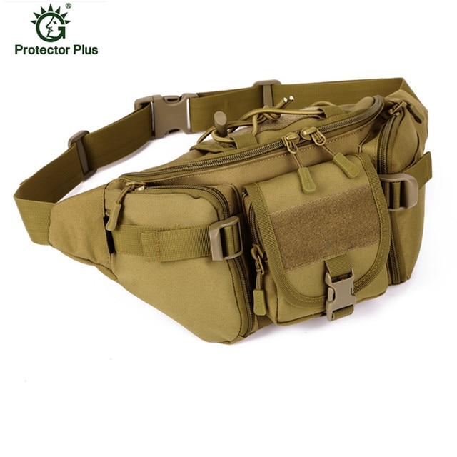 High Quality Nylon Waist Pack Belt Bag Men Military Tactics Chest Packs Camouflage Women Bags L37