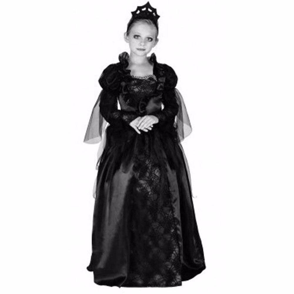 Kids Girls Vampire Halloween Costumes