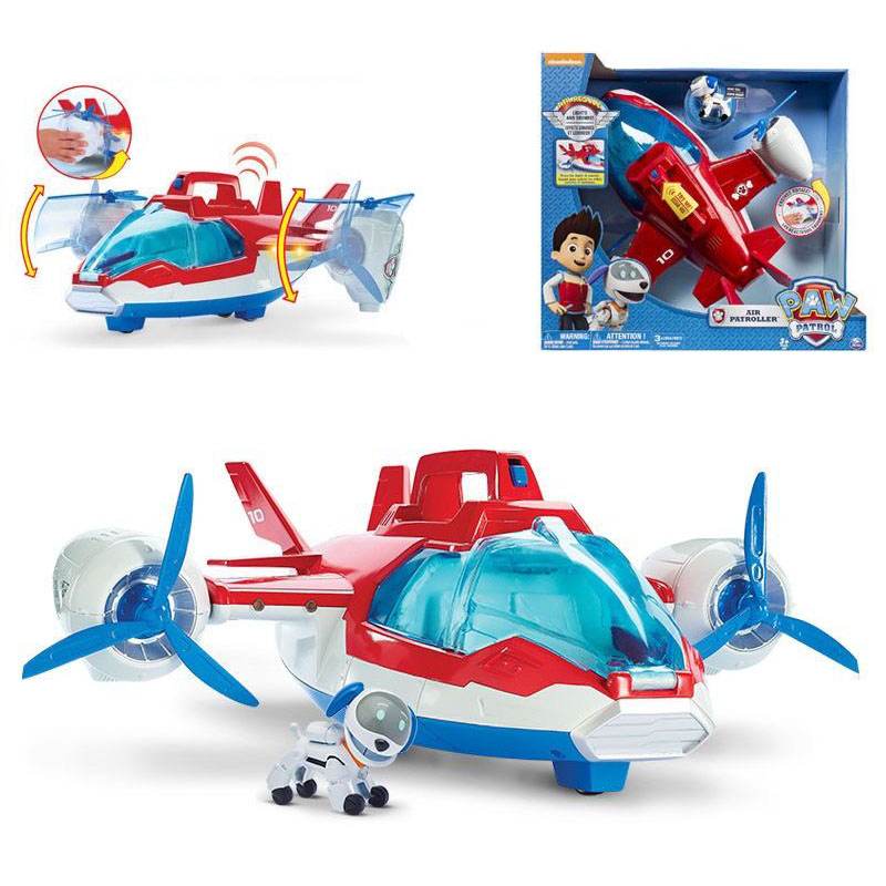 2020 New Arrival Paw Patrol - Paw Patrol Air Patroller - Lights And Sounds Air Patroller Plane Kids Birthday Christmas Toy Gift
