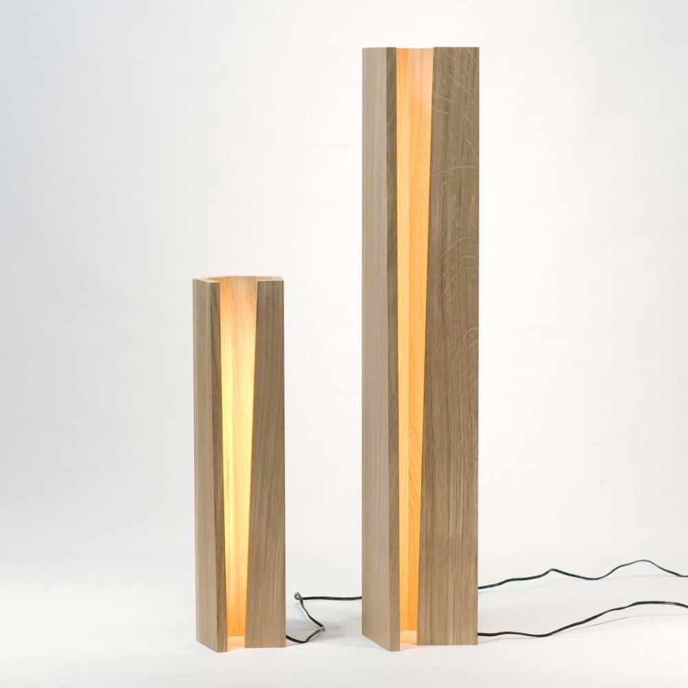 Simple solid wood lamp Nordic bedroom creative long atmosphere light decorative lights LU62358