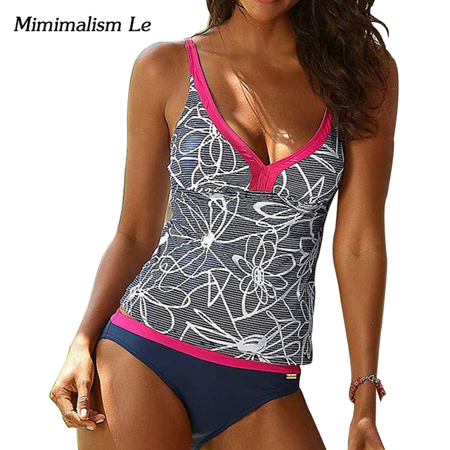 Minimalism Le Plus Size Brazilian Sexy Bikini Beach Wear 2017 New Patchwork Swimwear Women Swimsuit Bandage Bathing Suit BK594