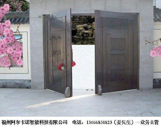 Stainless Steel Wrought Iron Patio Doors Special Door Opener