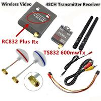 FPV 5 8 GHz 600mW Wireless Video Link 9CH Transmitter Receiver TX RX Combo