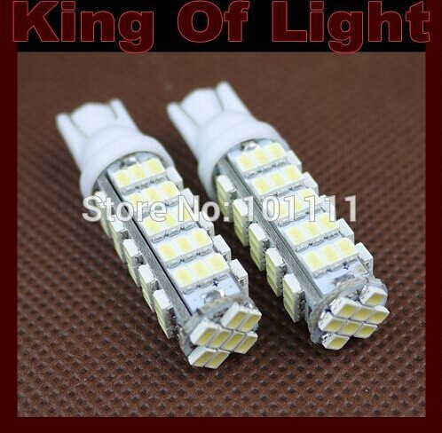 60X Car Auto LED T10 194 W5W 68 led smd 3020 68SMD Wedge LED Light Bulb Lamp White ...