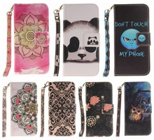 Romantic wallet PU Leather case for Apple iPhone 7 plus iPhone7 Plus 7+ fashion TPU holder Stand Flip Magnetic Card Slot molan cano card bumper card holder pc tpu phone case for iphone7 plus black