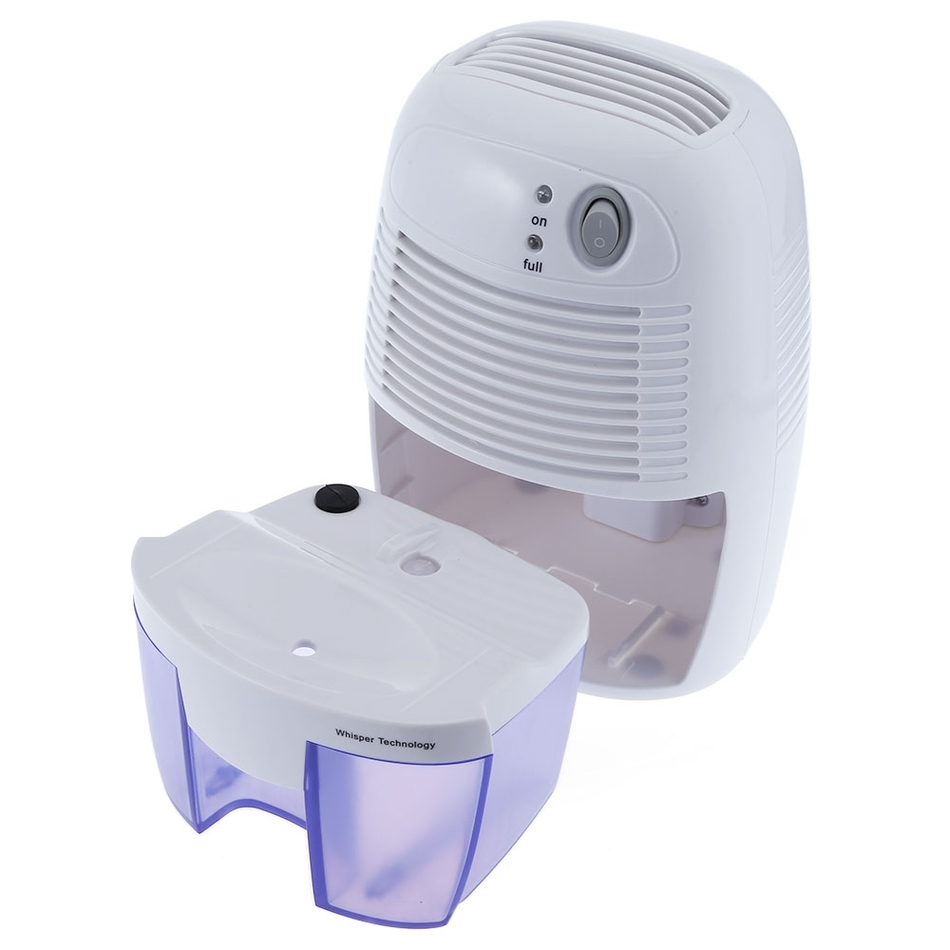 Small Dehumidifier For Bedroom Mini Air Dehumidifier Moisture Absorber With 500ml Water Tank For