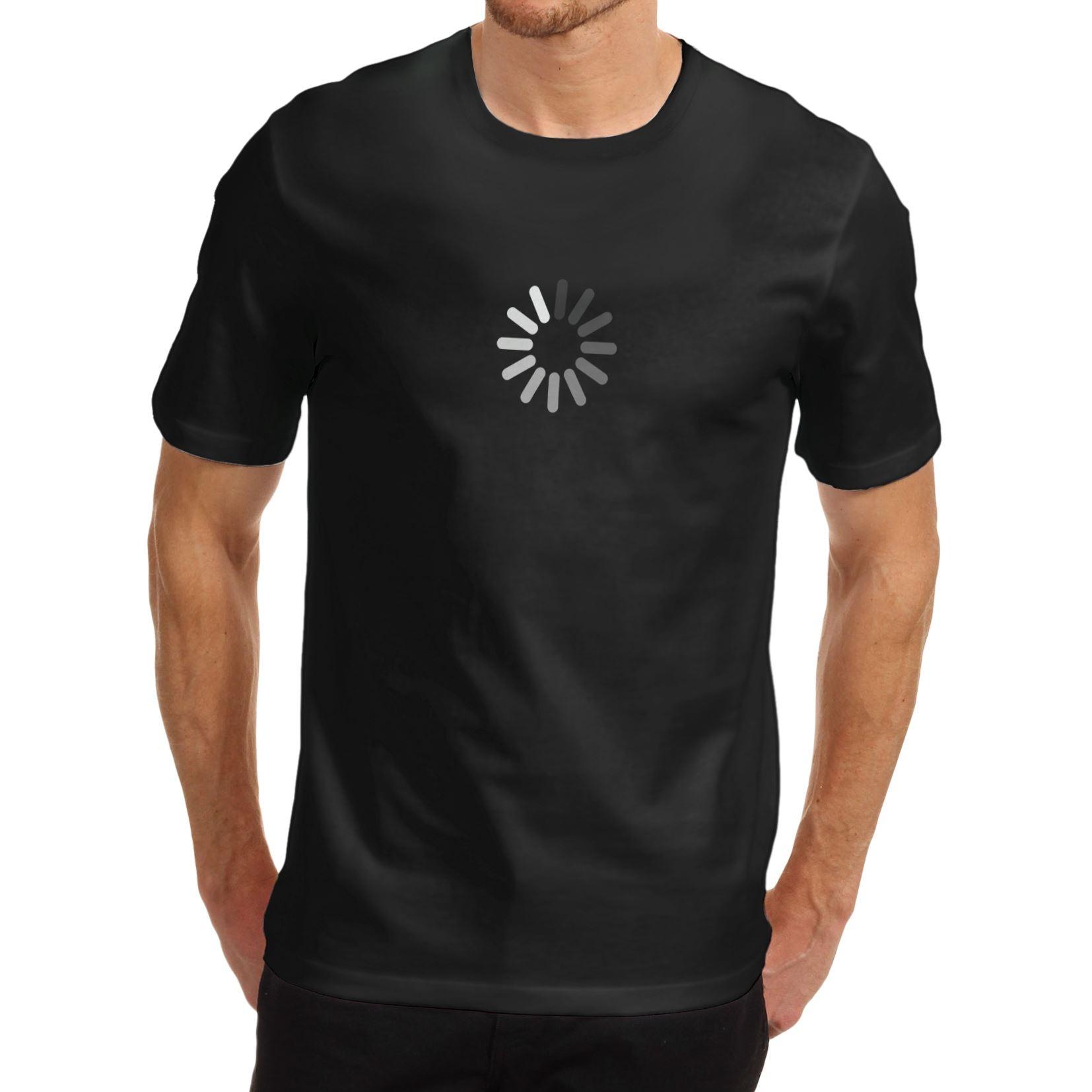 Shirt design price - Men T Shirt Lowest Price 100 Cotton Men Cotton Novelty Funny Design Wait Buffing Loading