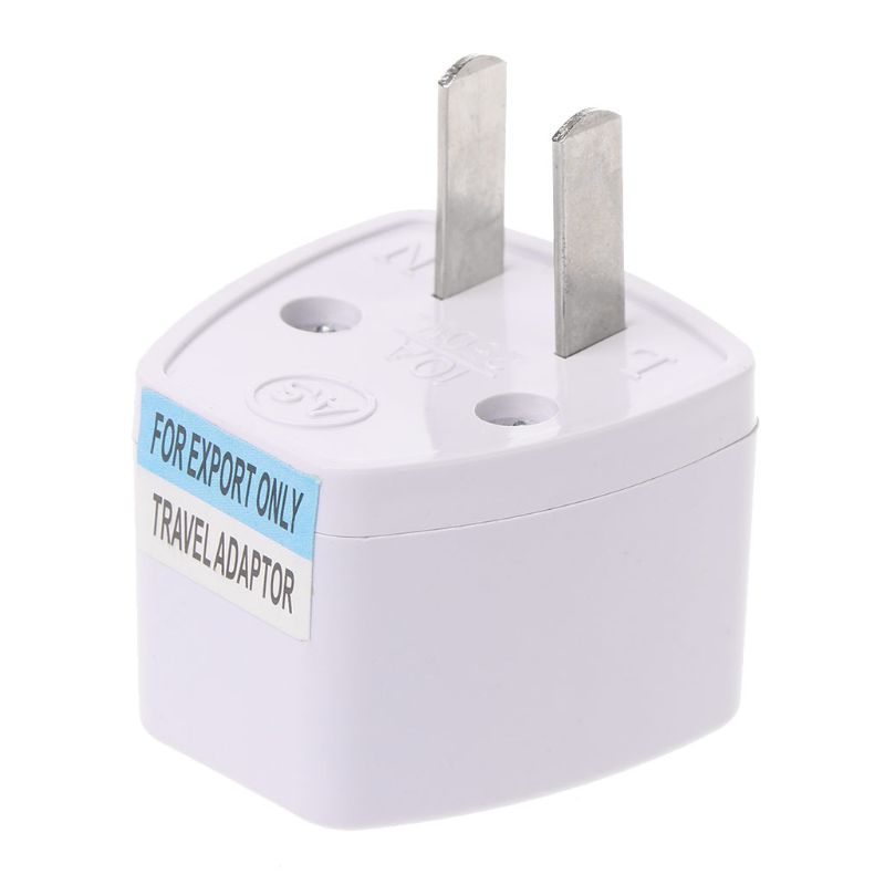 Universal AU EU UK To US 2PINS AC Power Socket Plug Travel Electrical Charger Adapter Converter
