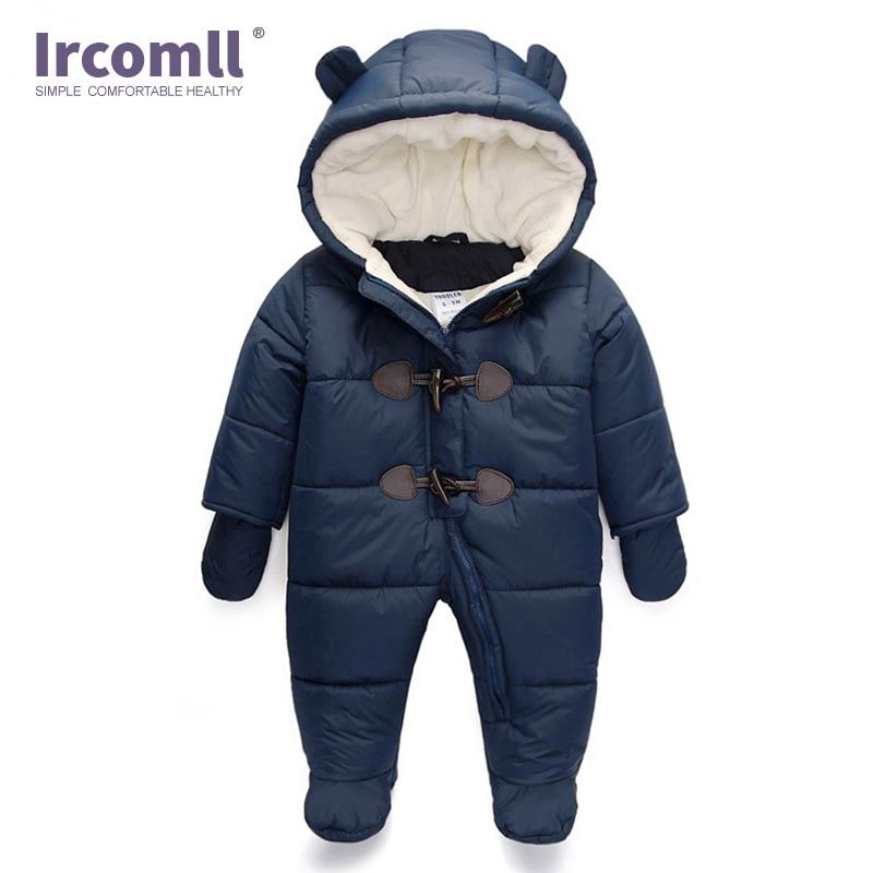 Lrcoml Keep Thick Warm Infant Baby Rompecabezas Ropa de invierno - Ropa de bebé - foto 2