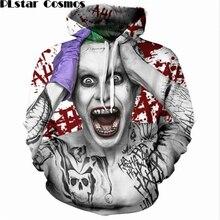 PLstar Cosmos Suicide Squad Joker Print 3D Hoodies Men/Women DC Comics Sweatshirt funny Hoody street Clothing tops plus size 5XL