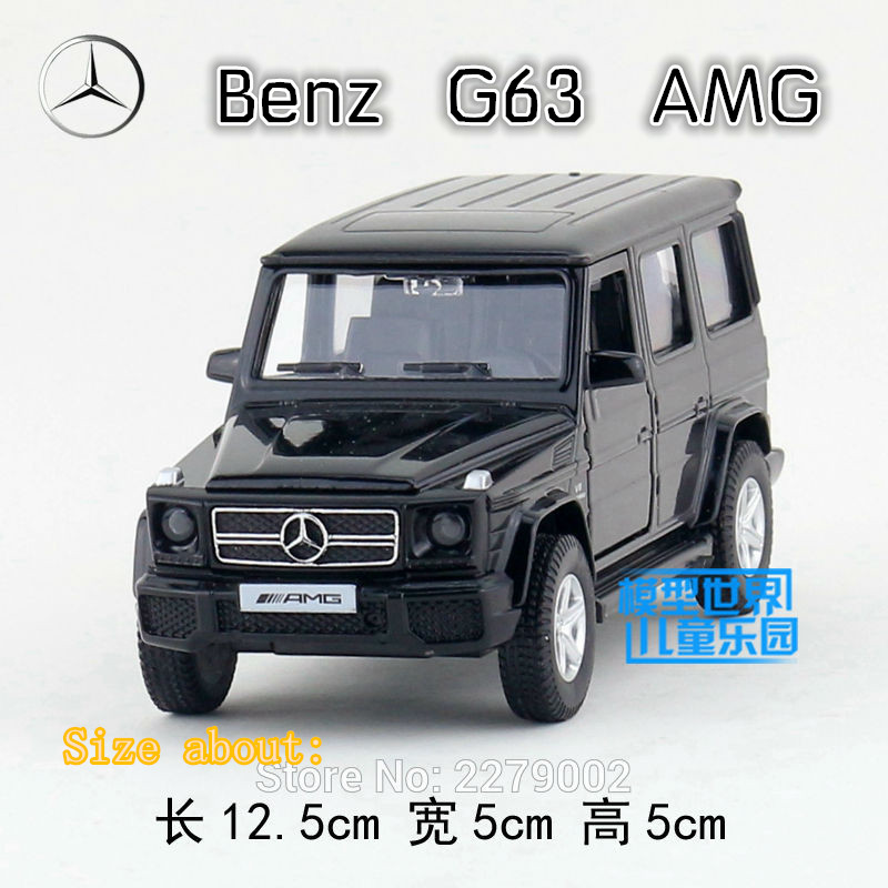 RMZCity 1:36 Scale Diecast Metal car/Simulation:Super Car-Benz G63 AMG/Pull back toy For children's gift/for collection/Limited