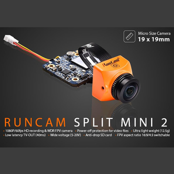 Split mini 2 /Split 2S FPV WiFi Camera 2 MP1080P/60fps HD recording