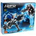 156 unids decool hero factory estrella guerra soliders 2en1 demon vapor vs granel robot bionicle bloque de construcción compatibles con legoe 7179