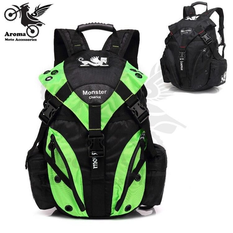 Black Green Brand Scooter Travel Luggage Pouch Motorbike Backpack For Honda Suzuki Yamaha Moto Knapsack Motorcycle Travel Bag Aliexpress