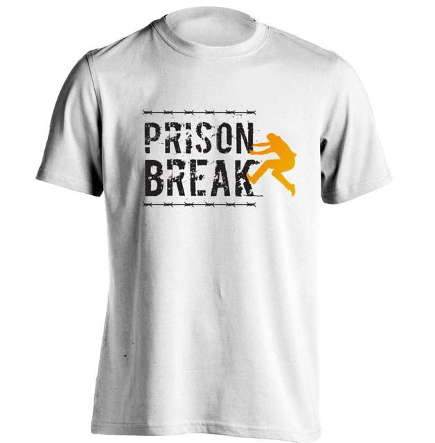 Prison Break PrisonBreak Mens U0026 Womens Cool T Shirt Baseball T Shirt Design  T Shirt