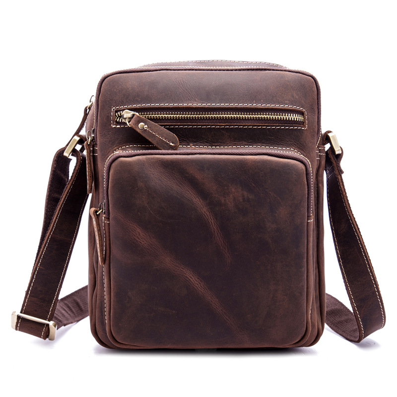 Genuine Leather Mens Messenger Bag Briefcase for Business Male Shoulder Bag Crossbody Handbag Travel Large Capacity Casual Tote Genuine Leather Mens Messenger Bag Briefcase for Business Male Shoulder Bag Crossbody Handbag Travel Large Capacity Casual Tote