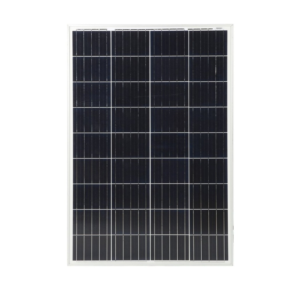 100W Durable Polycrystalline Solar Power System Module Solar Panel 12V Battery Charging For Off Grid RV Boat Motorhome NEW
