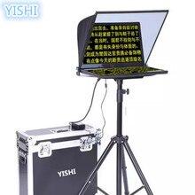 YISHI 22-дюймовый складной Портативный телесуфлер для Новости Интервью конференции речи студия специальная телесуфлер речи читателя
