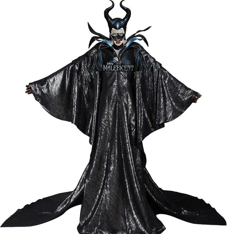 Latest Product Maleficent Cosplay Costume Adult Witch Sleeping Exclusive production