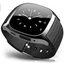 Wasserdichte Smartwatch M26 Bluetooth Smart Uhr Mit LED Alitmeter Musik-player Schrittzähler Für Apple IOS Android Smartphone 8955