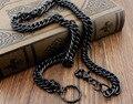 """Мужская Огромный Тяжелый Длинный Черный Насыщенный Металлический Ключ Жан Байкер Рокер Цепочка для Бумажника 33"""""""
