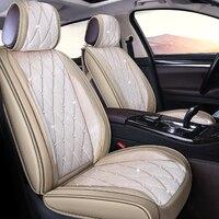 Сиденья шипованных горный хрусталь плюшевые подушки сиденья автомобиля для BUICK Excelle GT XT Verano Velite Angkola Envision Regal скрыть
