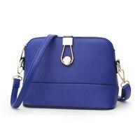 Fashion Women Messenger Bags Pachwork Envelope Casual Shoulder Bag High Quality PU Soft Zipper Solid New
