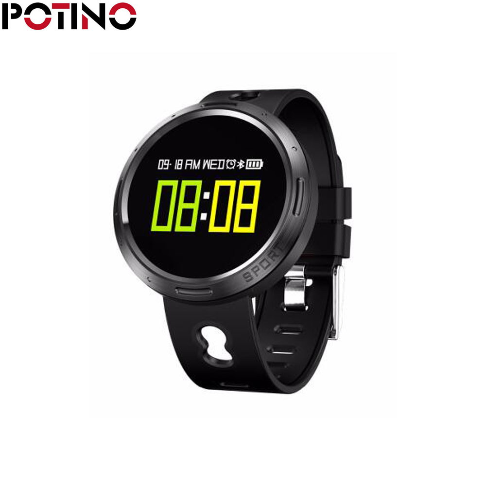 "POTINO X9VO Smart Bracelet 0.95"" OLED screen Heart rate Blood oxygen Blood pressure monitor ..."