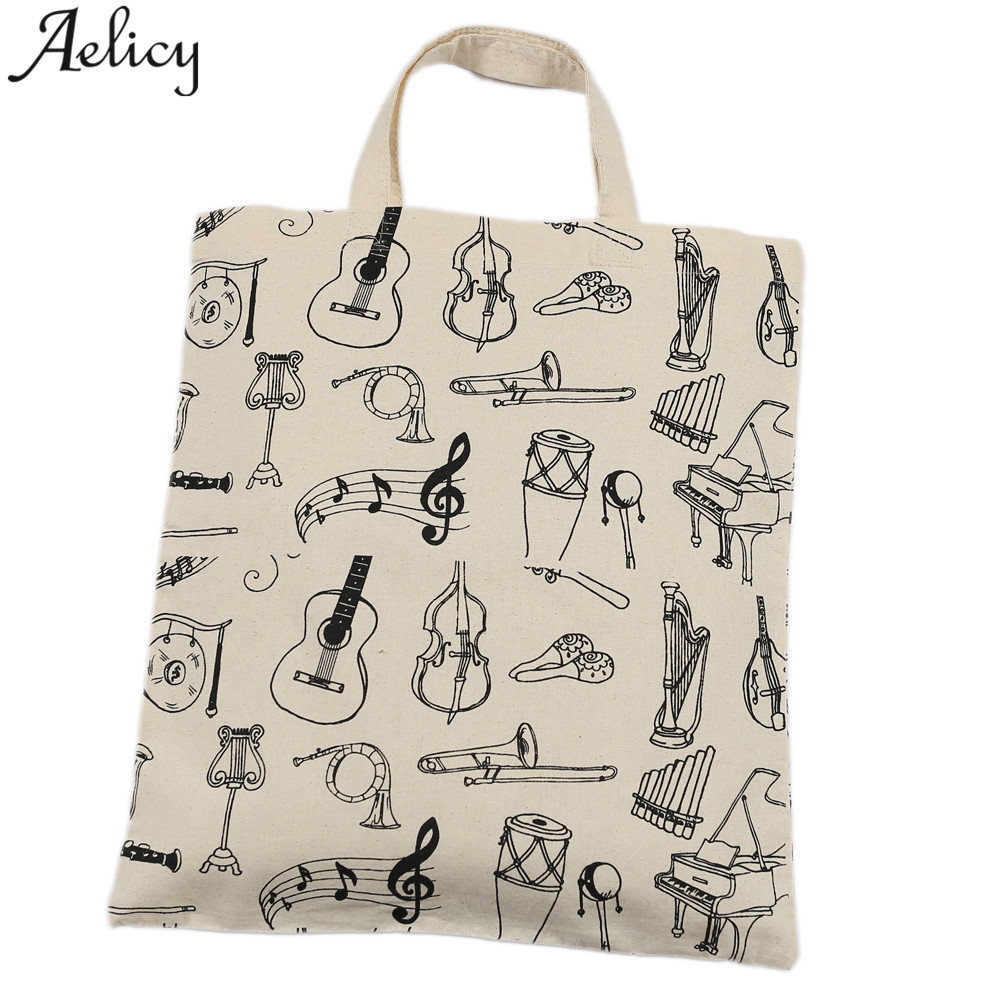 Aelicy Women Canvas Handbag Printed Shoulder bag Female Large Capacity Ladies Beach Bag Women Canvas Tote Shopping Handbags 2018 2018 new women bag ladies shoulder bag high quality pu leather ladies handbag large capacity tote big female shopping bag ll491