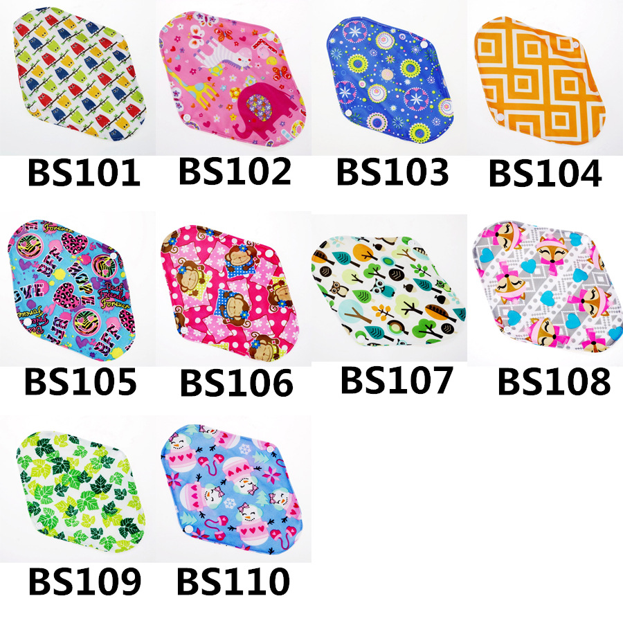 71c41bf20e8e4 [Mumsbest] 10PCS Bamboo Cotton Washable Cloth Maternity Pads Menstrual  Reusable Sanitary Pads Napkin Waterproof Panty Liners-in Maternity Pads  from Mother ...