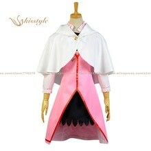Kisstyle Moda Shirayuki Nieve Blanca con el Pelo Rojo Rosa Escapes Diaria Uniforme Ropa Cosplay, Modificado Para Requisitos Particulares Aceptado