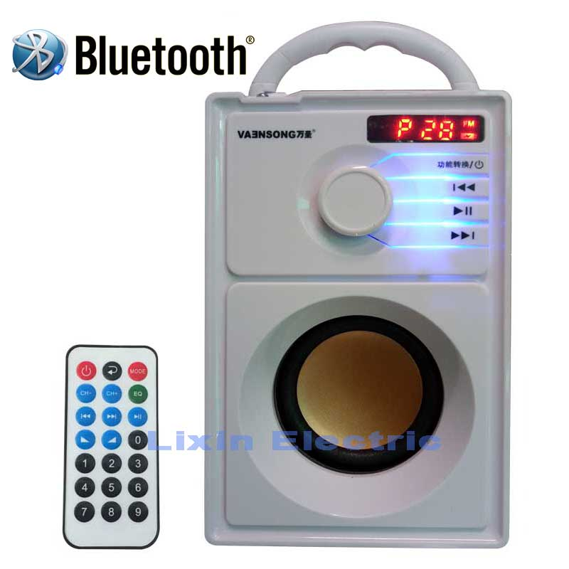 2500 mAh en bois 2.1 stéréo Subwoofer sans fil Bluetooth haut-parleur haut-parleurs portables FM Radio TF carte USB disque Mp3 jouer colonne