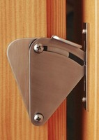 Stainless Steel Sliding Barn Door Lock For 35 45mm Door Panel CP432