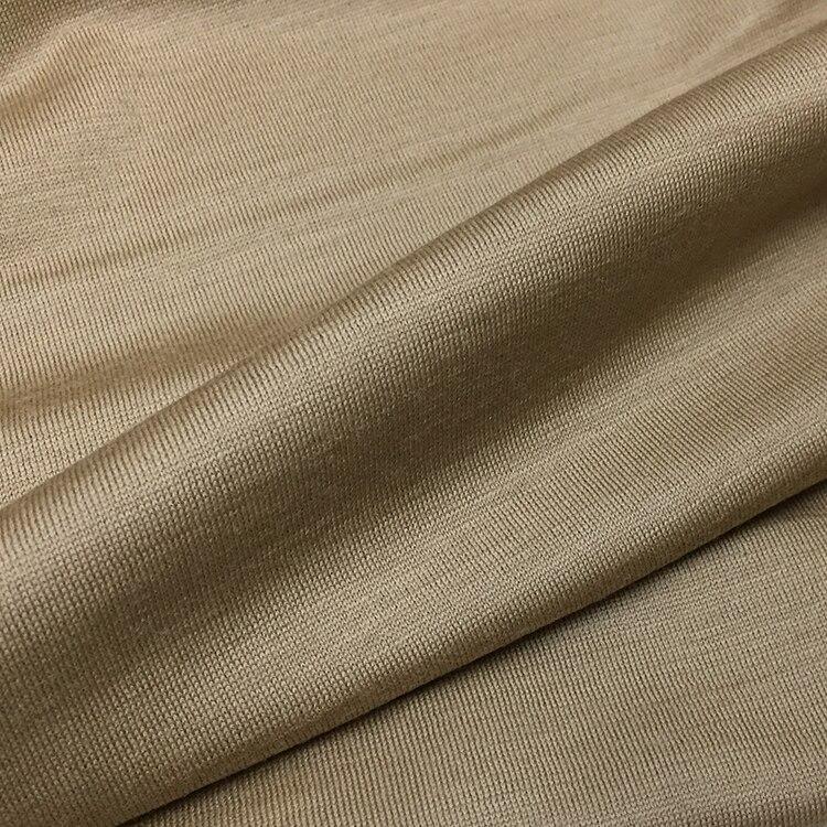 Laine pure cachemire tissu section mince automne et hiver Jersey pull importé tissu tricoté de haute qualité.