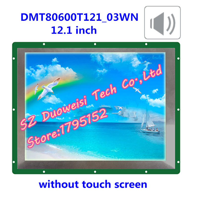 DMT80600T121_03WN bright wide viewing angle DGUS non-touch-screen smart serial voice industrial display lcd screenb101uan02 1 10 1 inch high definition screen ips wide viewing angle bright screen 1920x1200 fhd