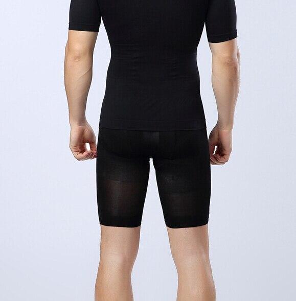 Men Waist Cincher Control Panties Slimming Thigh Underwear Breathable Tummy Trimmer Shaper Lift Butt Panty 4