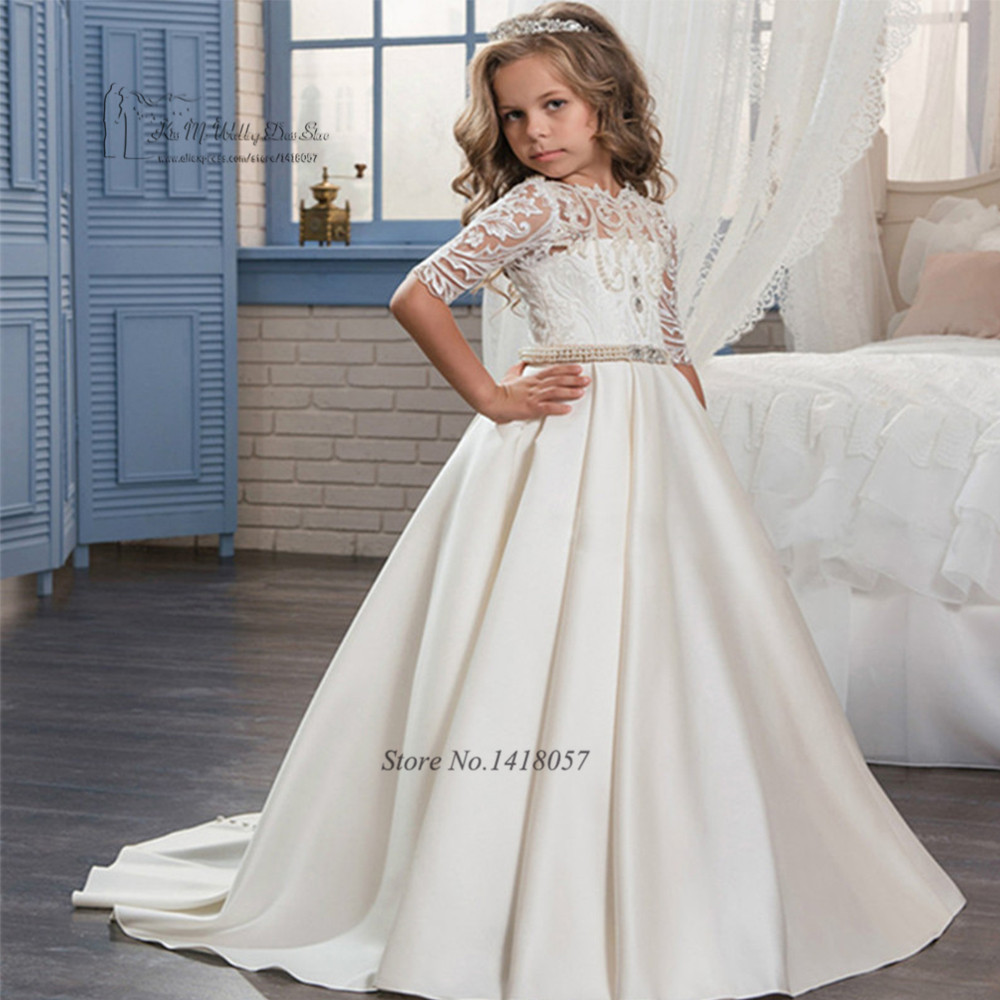 First Communion Dresses For Girls Graduation Gowns