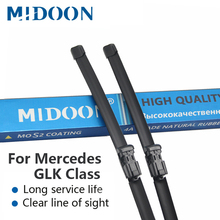 MIDOON стеклоочистителей для Mercedes Benz GLK класс X204 Fit боковые штыревые рукоятки GLK 200 220 250 280 300 320 350 CDI 4matic