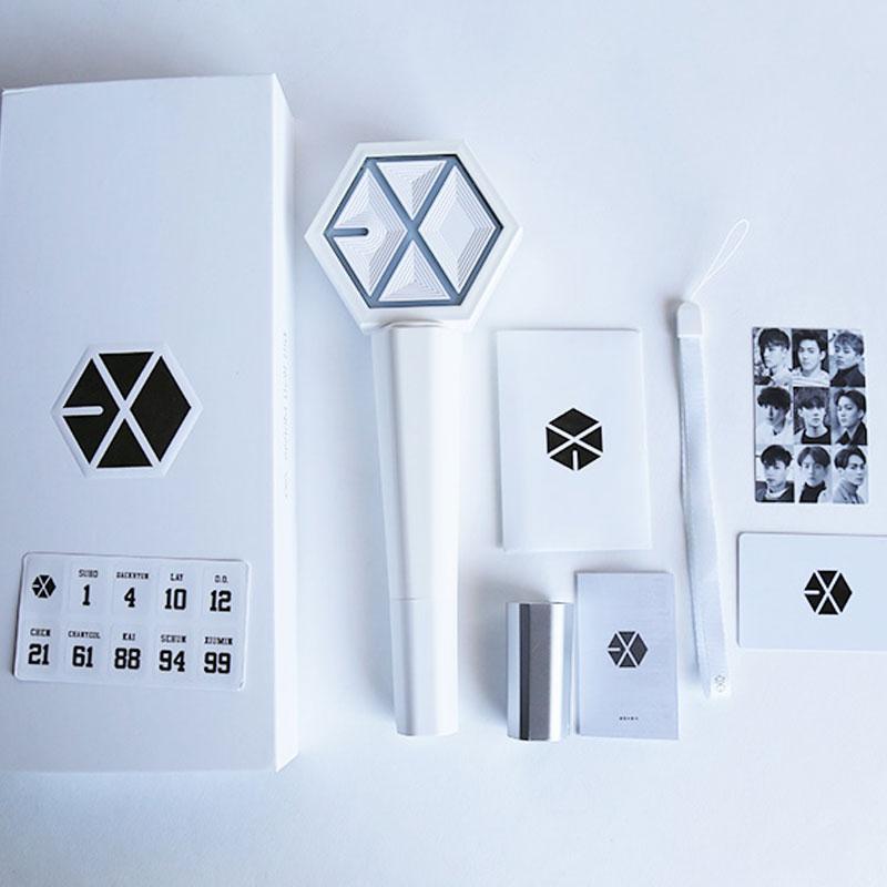 Exo Kpop Ex Act Album Lichte stick voor concert Glow Stick Lay Korea - Dameskleding