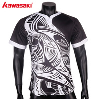 Kawasaki Short Sleeve Rugby T Shirt Men's Sports Jerseys Rugby Training Shirt Tops Clothing High Quality