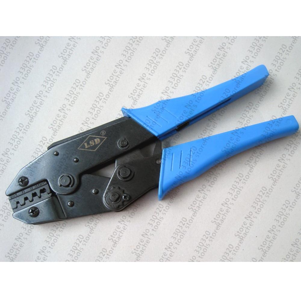 Werkzeuge Zangen Freundlich Ls-03a Hand Crimpen Werkzeug Für Crimpen öffnen Barrel Terminals 0,1-2.5mm2