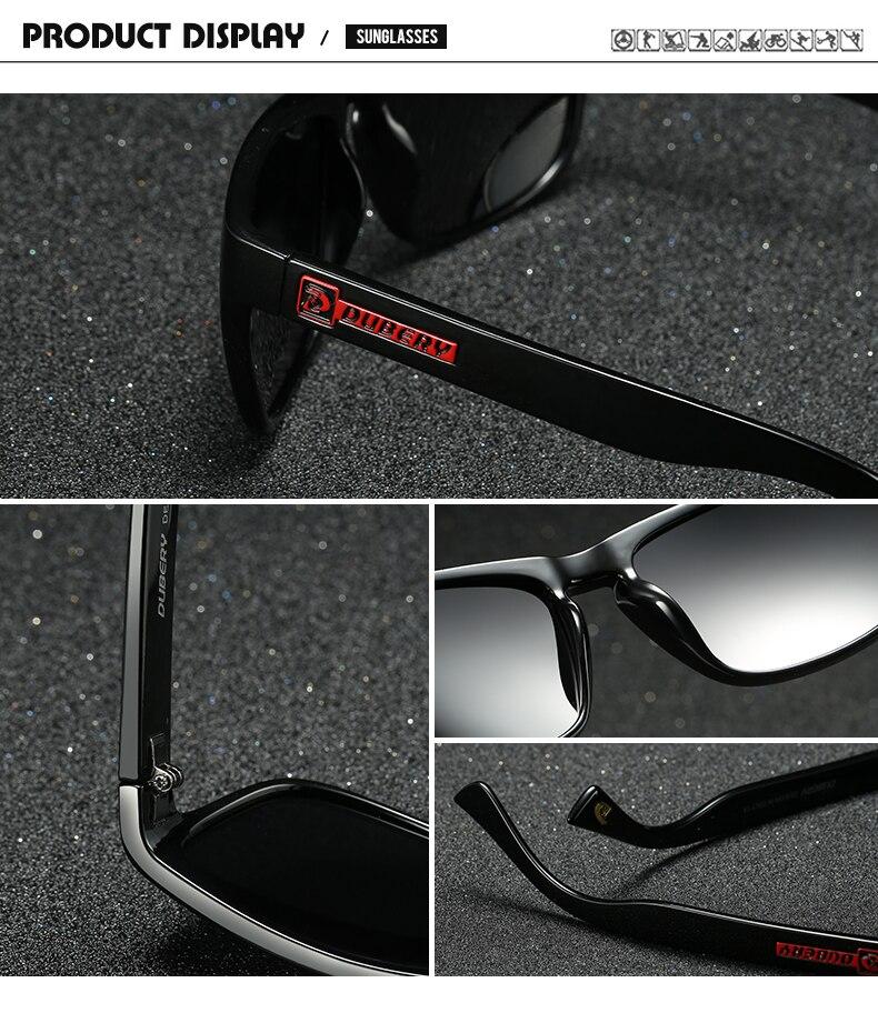 efead86ffd7a5 DUBERY Óculos Polarizados Masculino Do Vintage dos homens Coloridos Óculos  De Sol Para Homens Marca de Moda de Luxo Espelho Shades Oculos em Óculos de  sol ...