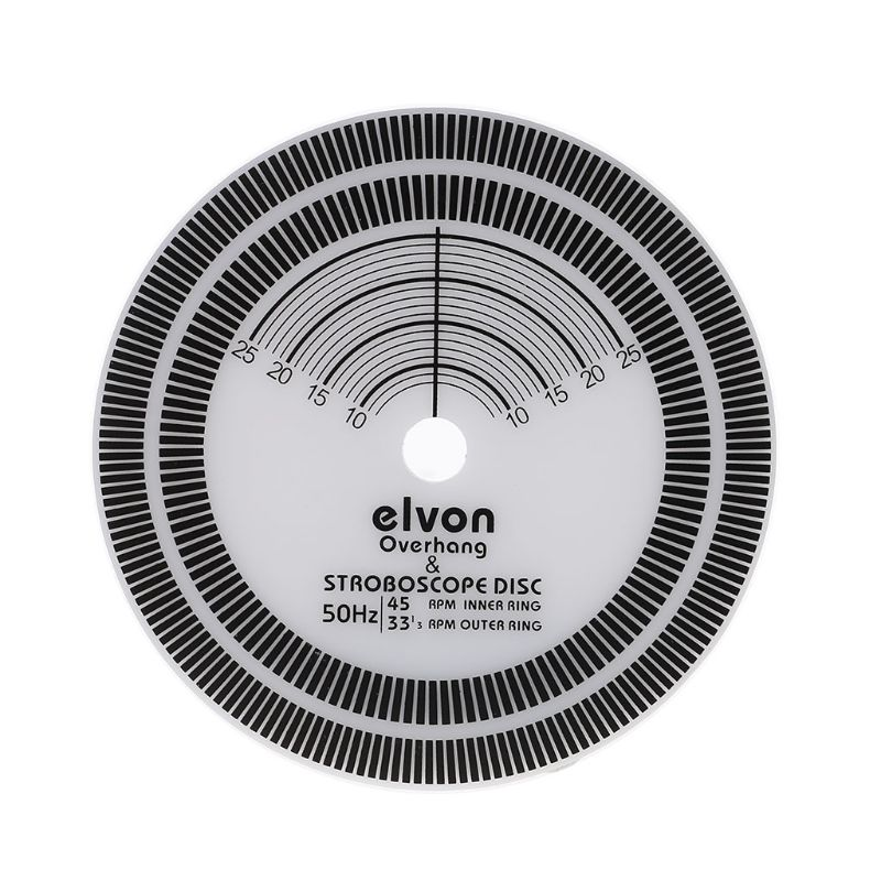 Für Lp Vinyl Rekord Plattenspieler Phono Drehzahlmesser Kalibrierung Abstand Gauge Winkelmesser Disc Stabilisator Weniger Teuer Tragbares Audio & Video
