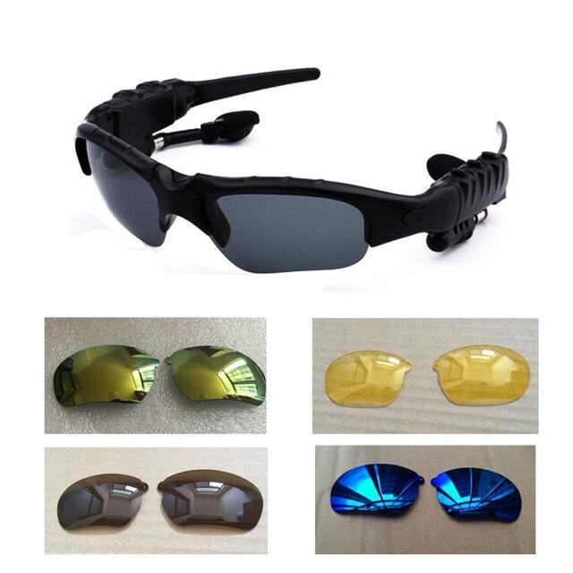 US $10.99 30% OFF|Sport Drahtloser Bluetooth Headset Stereo ohrhörer Outdoor Sonnenbrille Freihändiger Kopfhörer für Xiomi Samsung Sony Oneplus 5