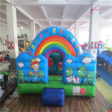 mini inflatable bouncer castle,kids inflatable trampoline YLW-bouncer 181
