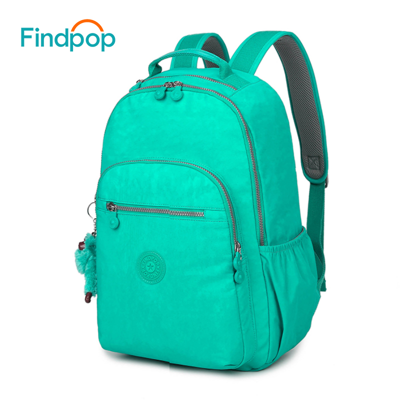 Findpop Backpack Women 2018 Fashion Student College Backpacks Mochilas Large Capacity Waterproof Canvas School Bags For Teenager